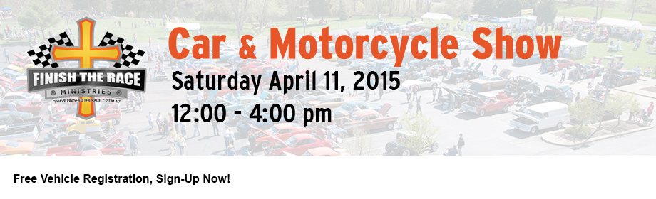 2015 Spring Finish the Race Car & Motorcycle Show